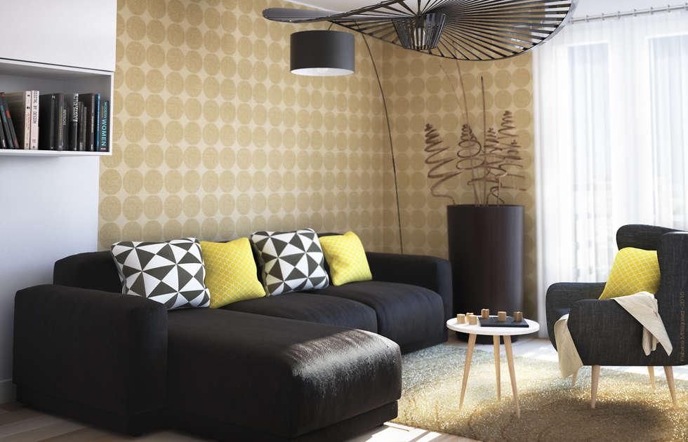Décoration n°2 du salon: Salon de style de style Moderne par Concept d'intérieur