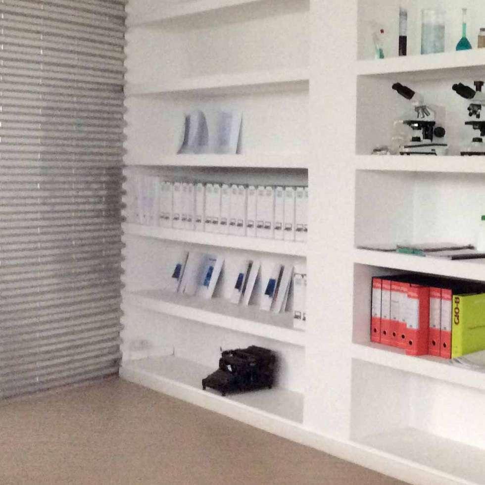 Studio loft ristrutturazione: Studio in stile in stile Moderno di Emanuela galfetti architetto