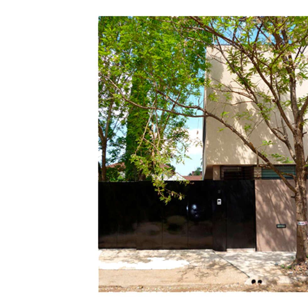 CASA TIGRE: Casas de estilo moderno por GB Arquitectos
