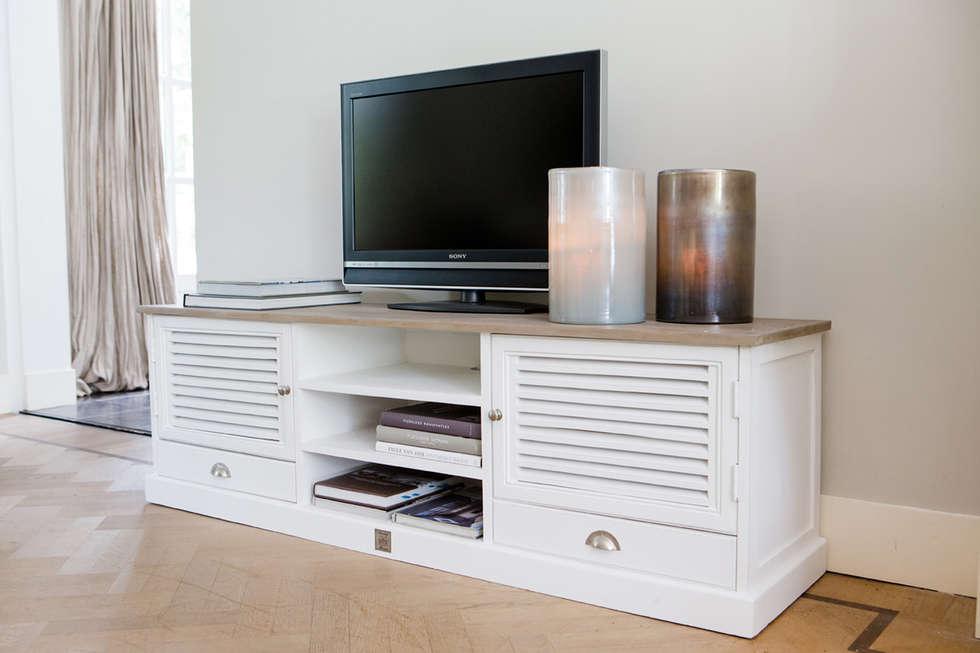 Riviera Maison TV Kommode Landhausstil Wohnzimmer Von Villa