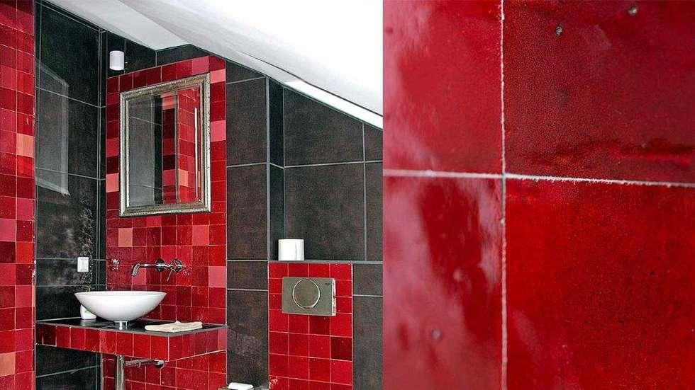 Zellige Fliesen: Mediterrane Badezimmer Von Mosaic Del Sur Deutschland    Schweiz   Österreich
