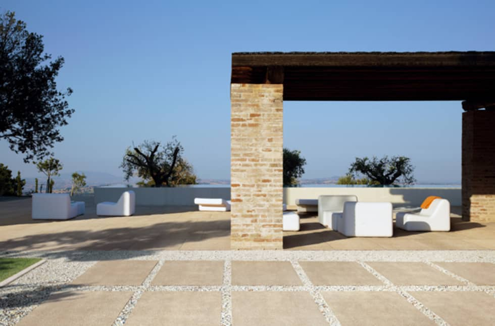 la tendencia tambin en suelos para ambiente en exterior casas de estilo