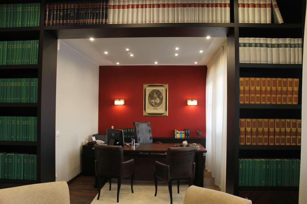 ufficio direzionale : Studio in stile in stile Eclettico di bilune studio
