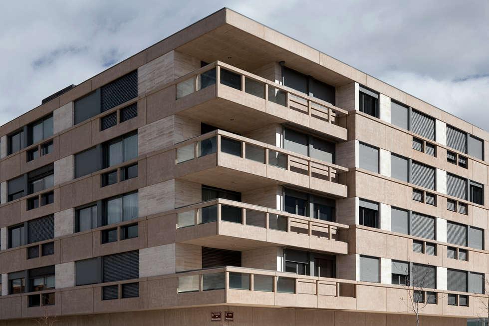 Terrasse de style  par Ignacio Quemada Arquitectos