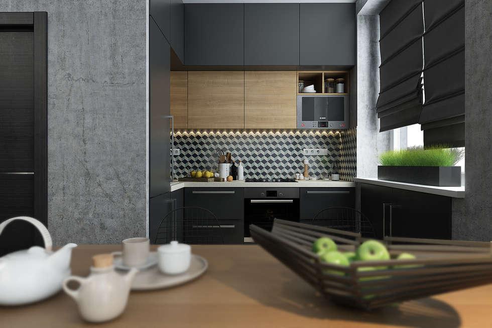 scandinavische Keuken door Solo Design Studio