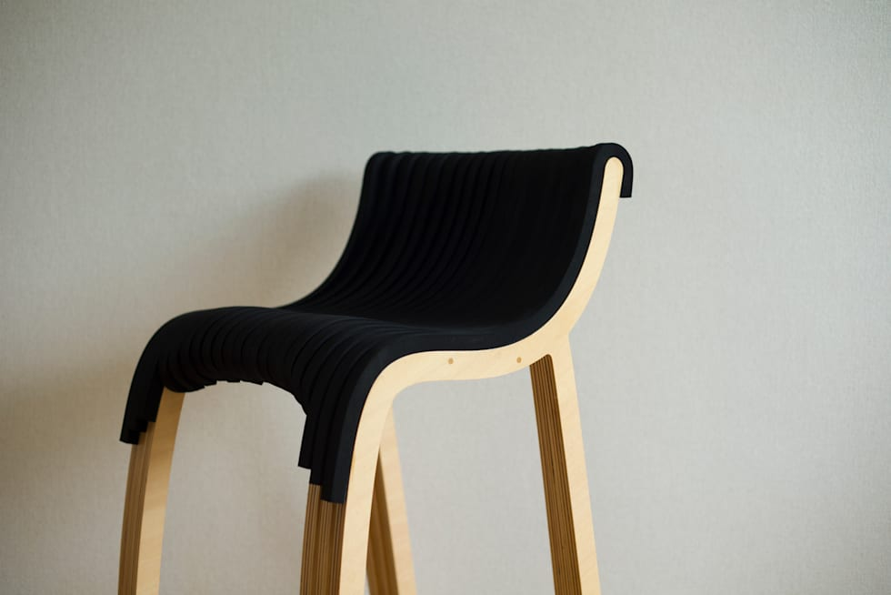 wirechair: Design of Engineering and Fabrication / wipが手掛けた勉強部屋/オフィスです。