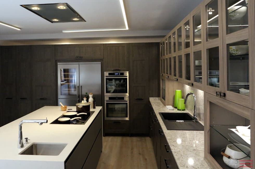 Fotos de decoraci n y dise o de interiores homify for Linea tres cocinas