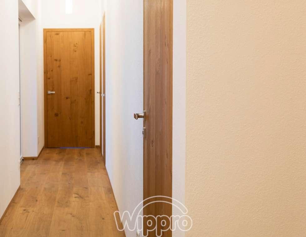 Moderne innentüren eiche  Moderne Fenster & Tür Bilder: Mauerbündige Innentüren, Raumhoch ...
