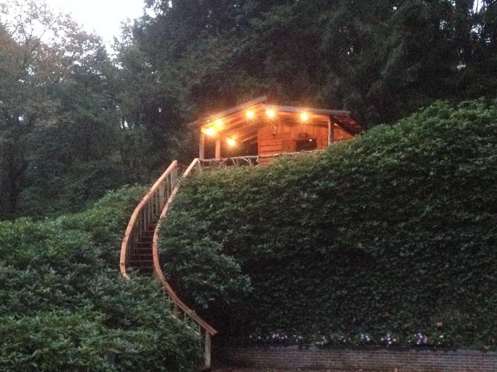 Boomhut - Treehouse: landelijke Huizen door TENSO