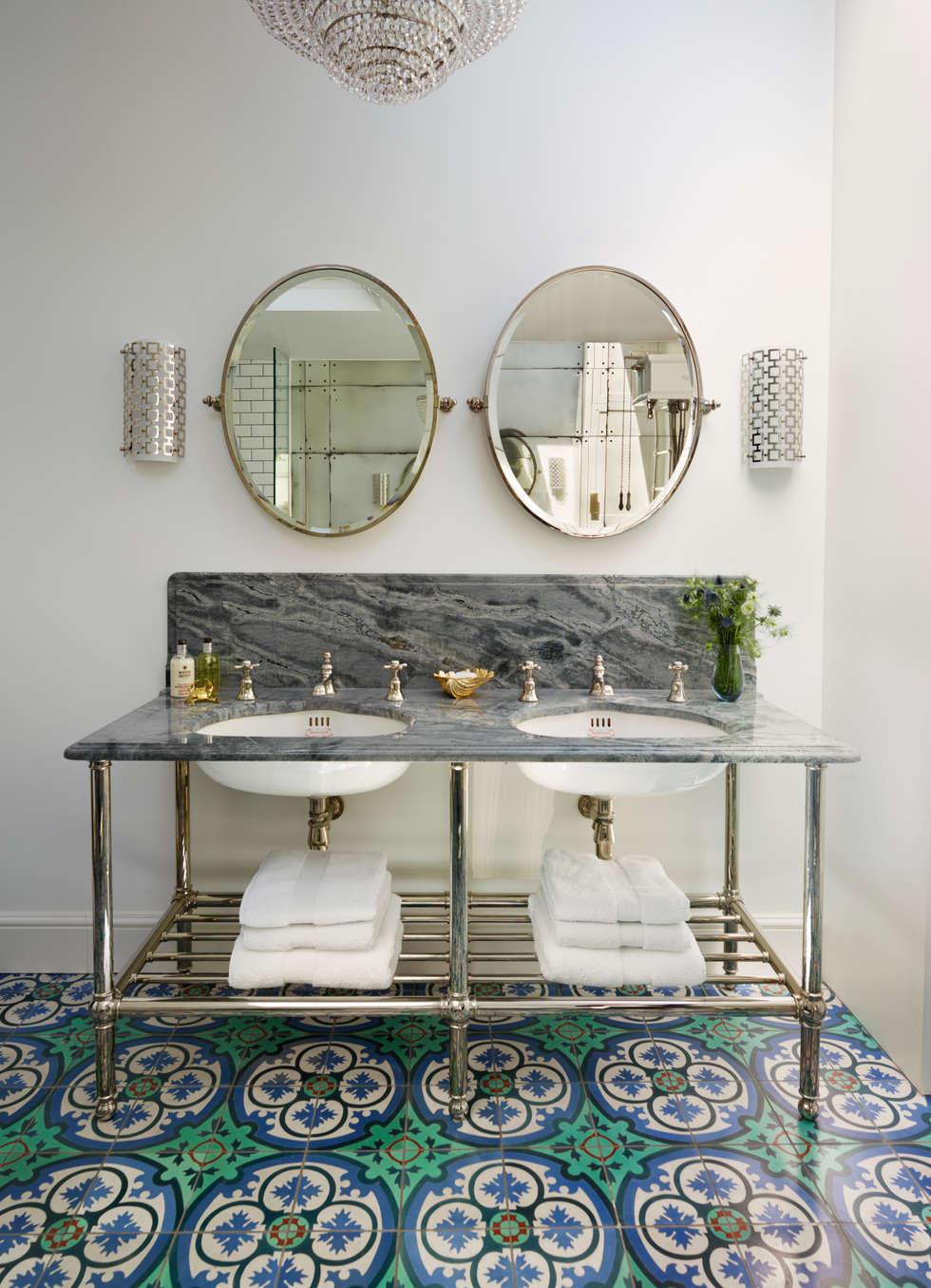 Interior design ideas redecorating remodeling photos for Victorian terrace bathroom ideas