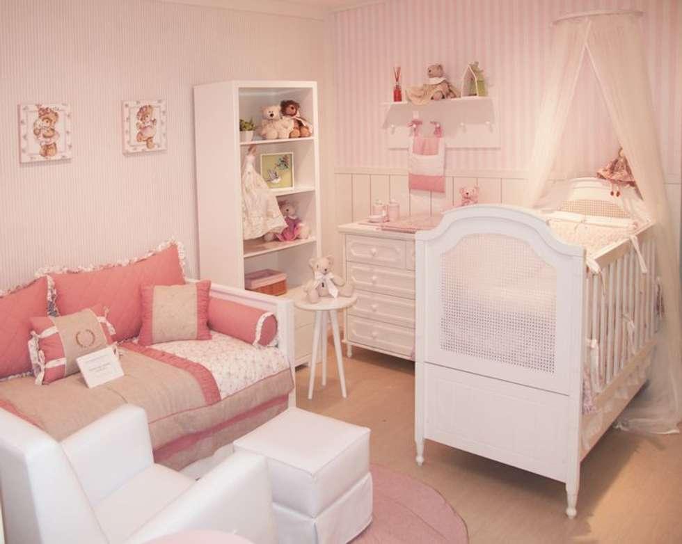 Fotos de decoraç u00e3o, design de interiores e reformas homify~ Móveis Para Quarto De Bebe Completo Com Decoração De Ursinho