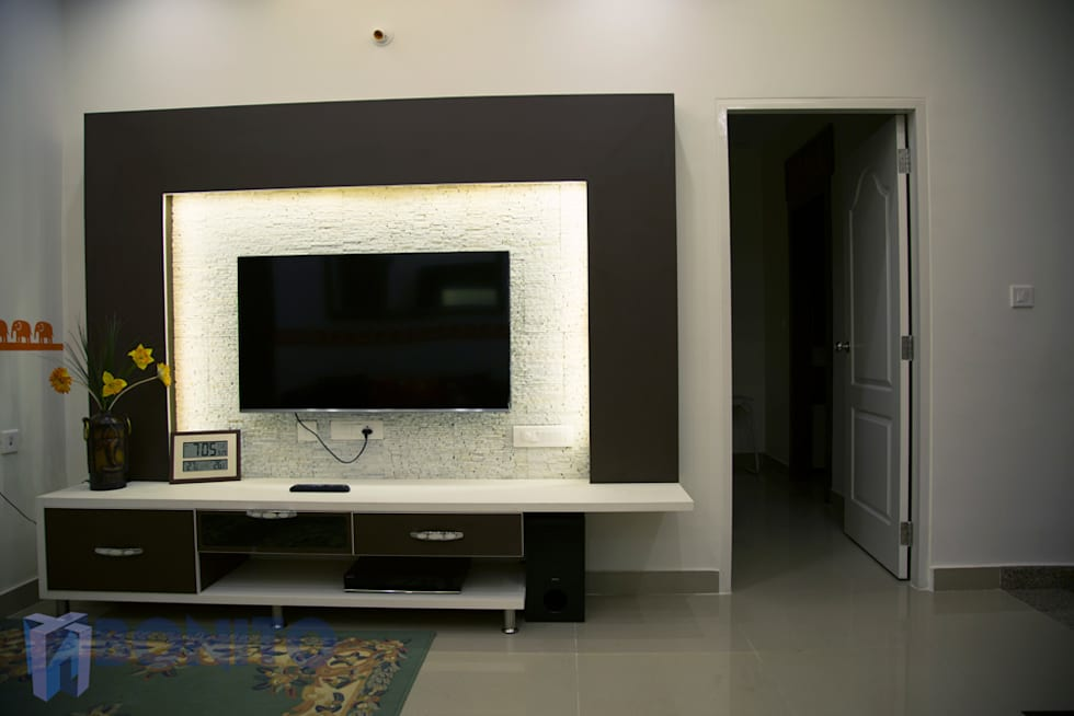 Interior design ideas inspiration pictures homify - Wall mounted tv unit interior design ...