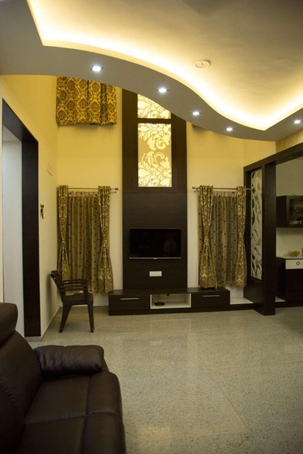 Pomys y na wn trza i zdj cia dekoraci wn trz homify for V shaped living room