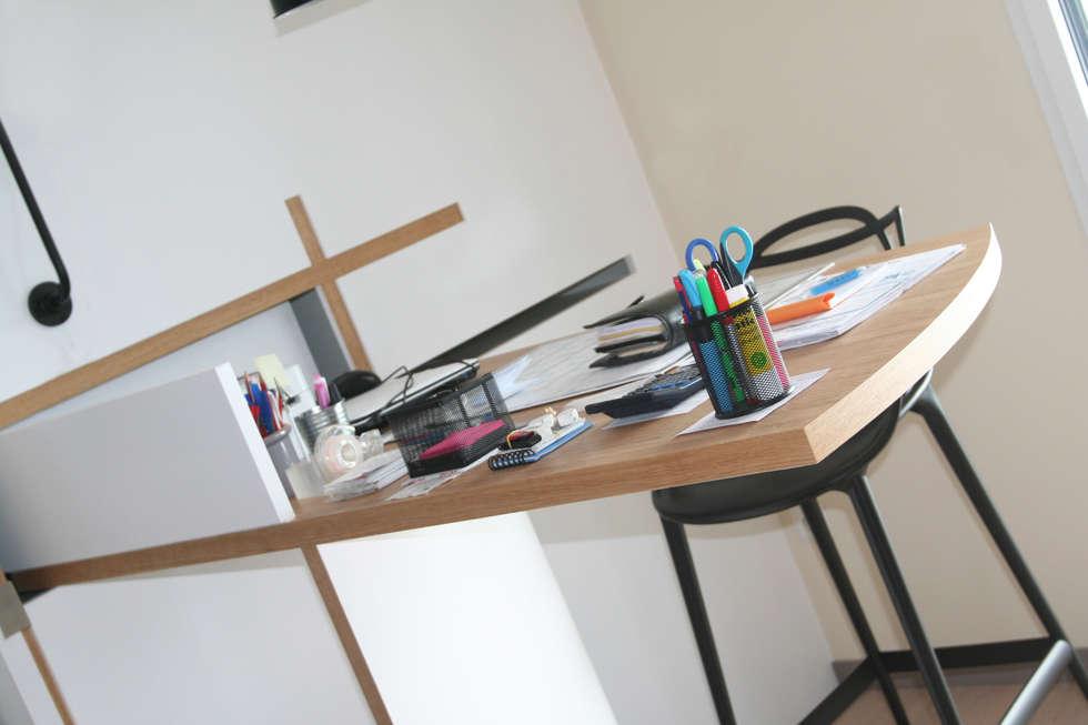 Appartement la rochelle bureau de style de style moderne par
