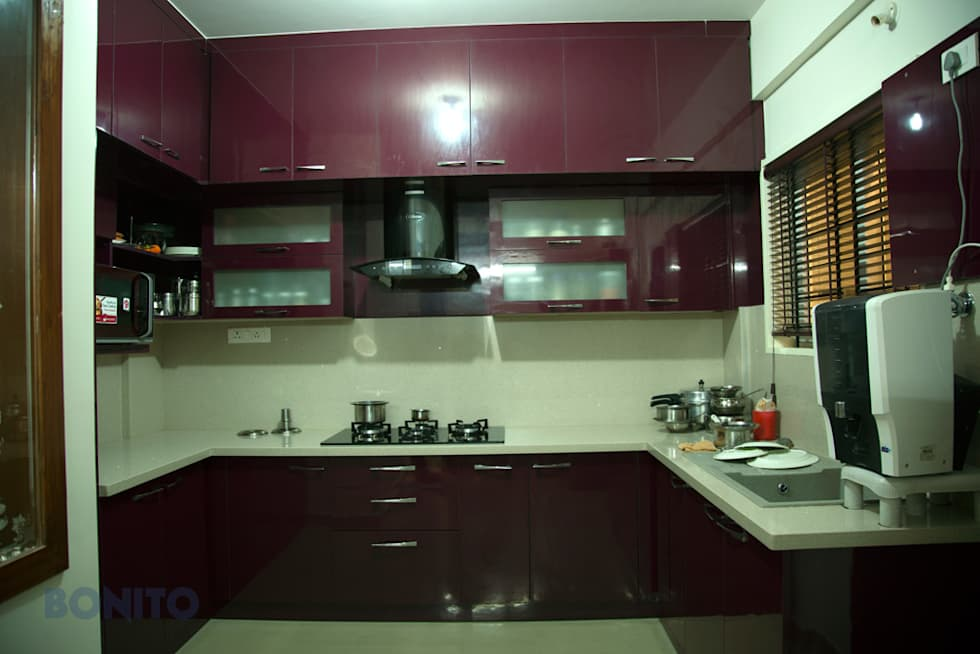 Asian kitchen photos modular kitchen cabinet arrangement homify