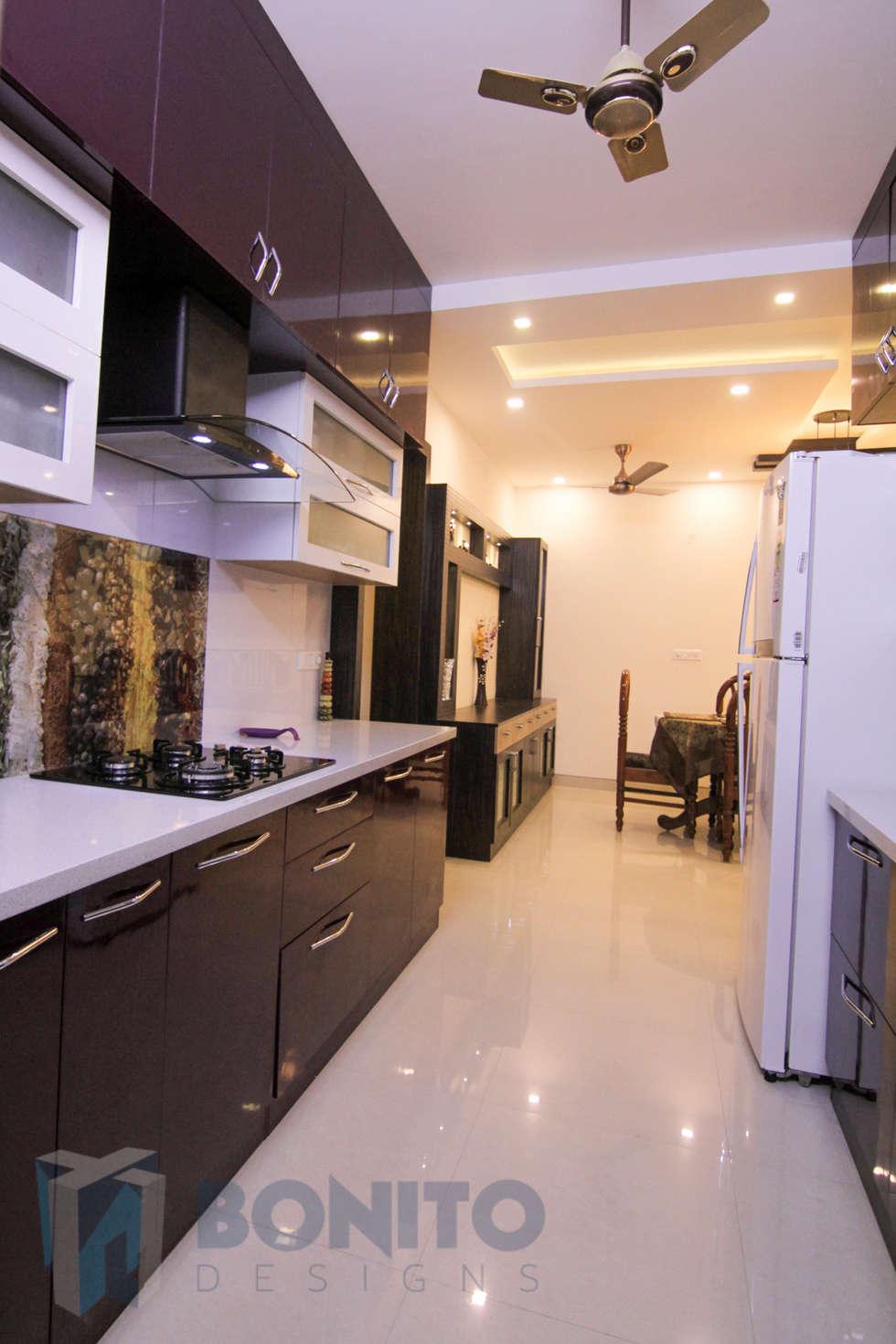 Asian kitchen photos modular parallel kitchen style interiors