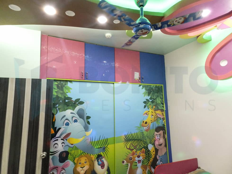Kids Bedroom Laminates modern nursery/kid's room photos: animal printed laminates for