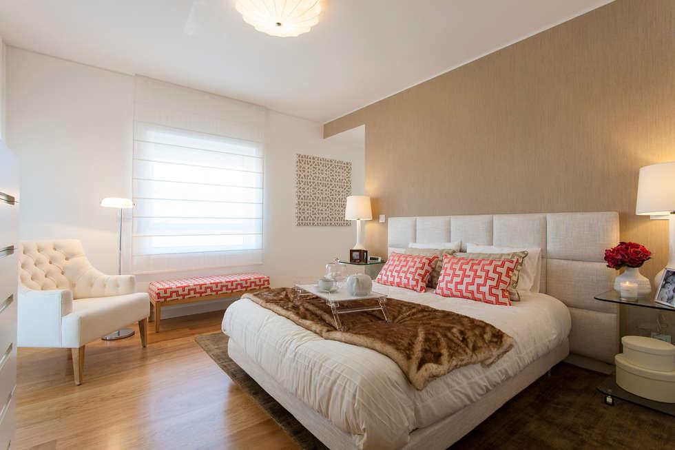 Fotos de dormitorios de estilo moderno de tra?o magenta ...