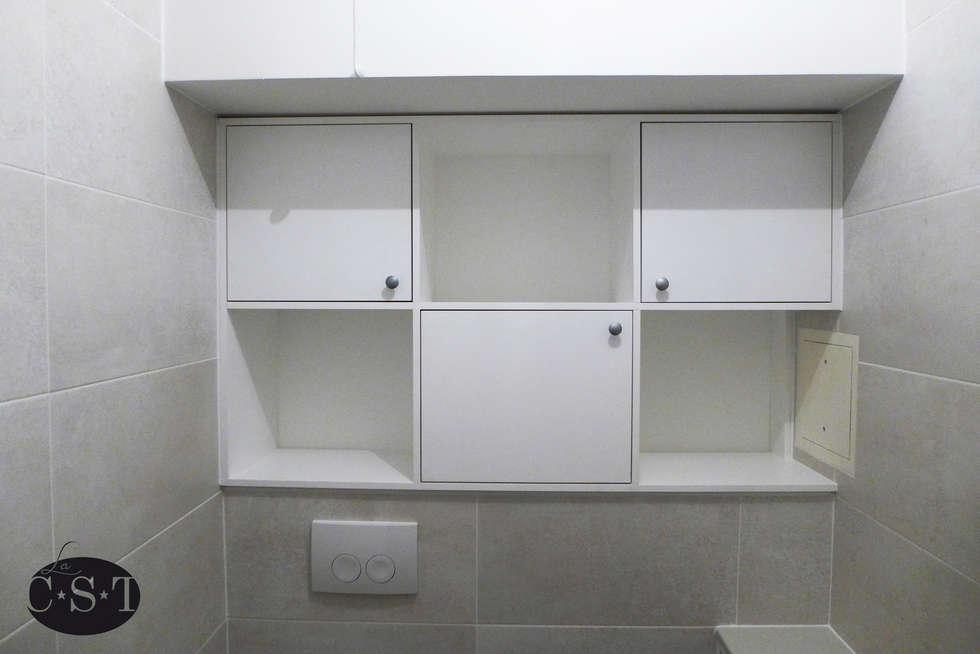 Photos de salle de bain de style de style minimaliste - Niche de salle de bain ...