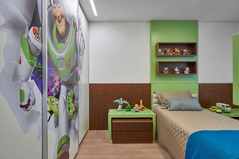 Dormitorios infantiles de estilo  por Isabela Canaan Arquitetos e Associados