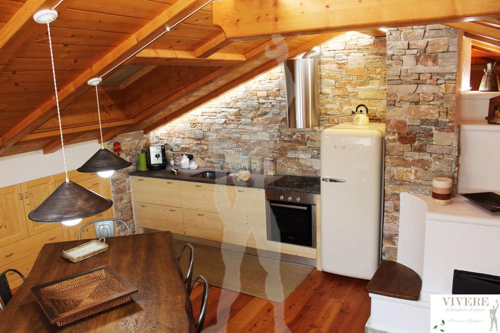 Cucina: Cucina in stile in stile Rustico di Arredamenti Brigadoi