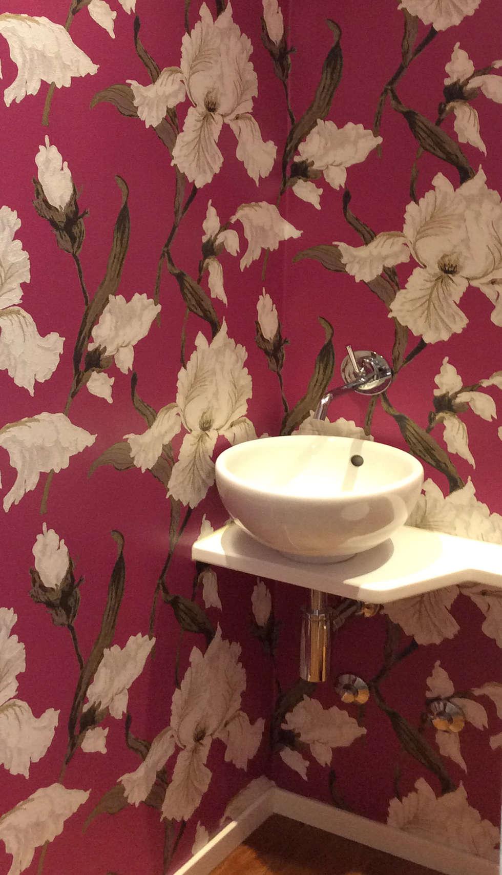 stanza da bagno: Bagno in stile in stile Eclettico di bilune studio