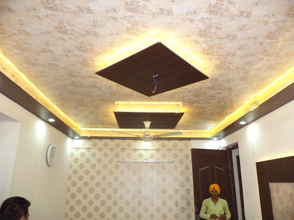 P o false ceiling wallpaper for International decor false ceiling