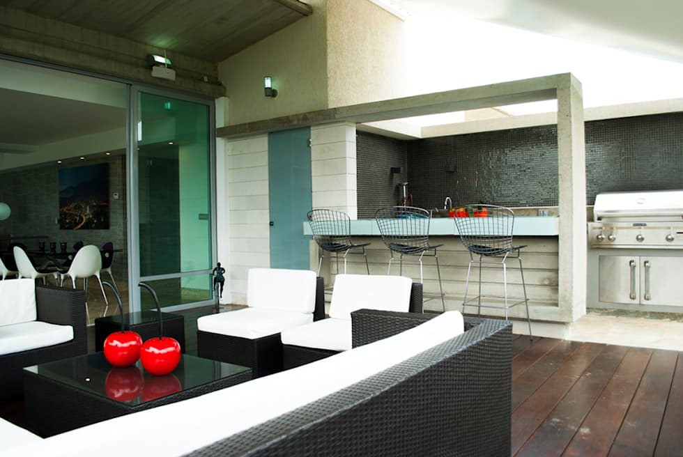 PH Altozano: Terrazas de estilo  por VODO Arquitectos