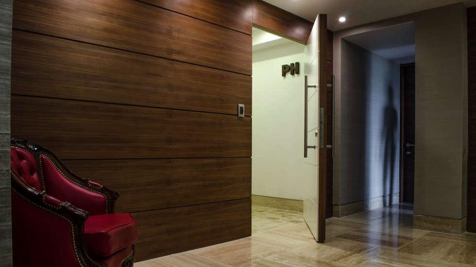 PH Altozano: Casas de estilo moderno por VODO Arquitectos