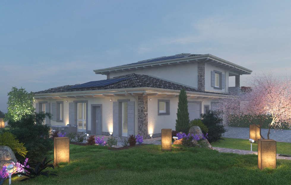 Idee arredamento casa interior design homify for Piani casa lago stile artigiano