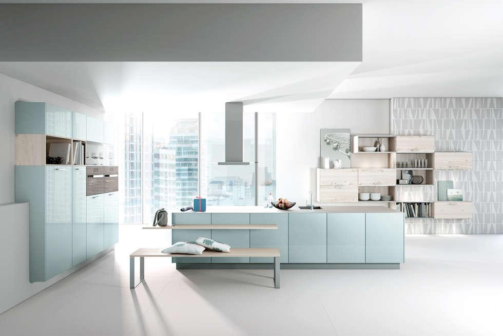 Häcker küchen: modern tarz mutfak fotoğrafları | homify | {Küchenmöbel modern 23}