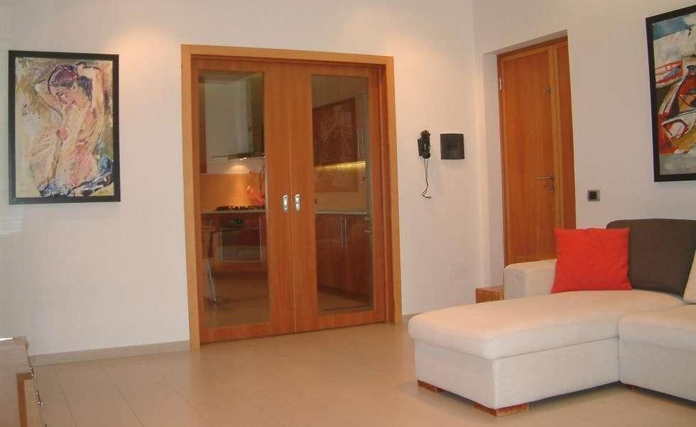 Idee arredamento casa interior design homify - Divisione cucina soggiorno ...