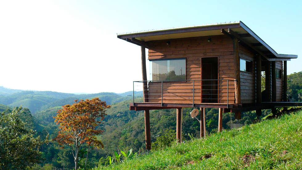 บ้านและที่อยู่อาศัย by Cabana Arquitetos