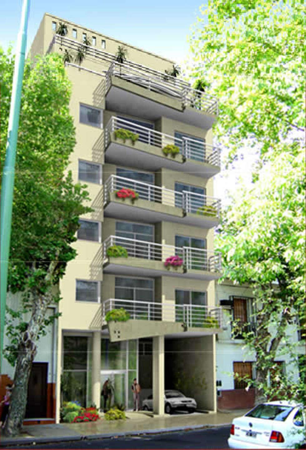 EDIFICIO NEUQUEN: Casas de estilo clásico por ESTUDIO PINKUS S.R.L.