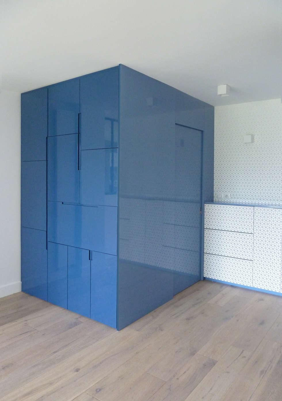 Meuble sur-mesure: Bureau de style de style Scandinave par Bénédicte Montussac