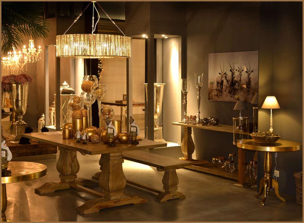 Country dining room by groothandel in decoratie en lifestyle