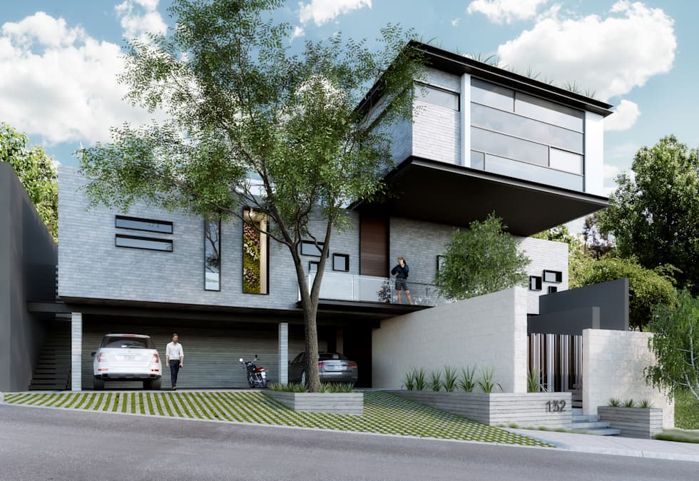 modern Houses by TREVINO.CHABRAND   Architectural Studio
