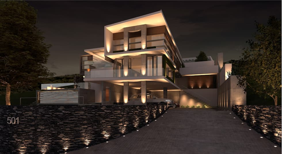 modern Houses by TREVINO.CHABRAND | Architectural Studio