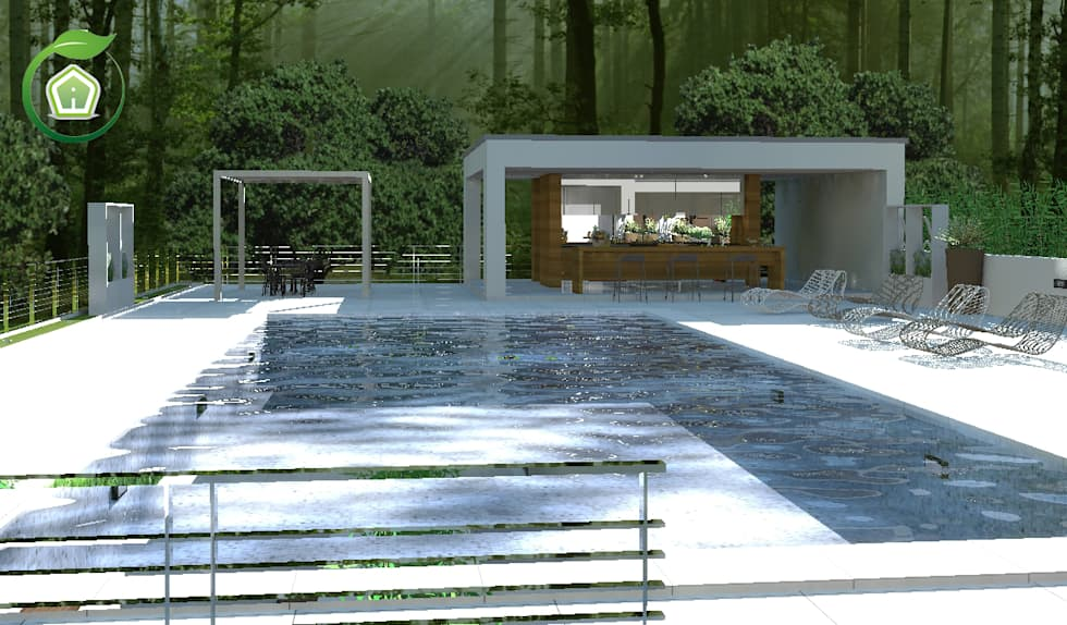Idee arredamento casa interior design homify for Giardini esterni foto