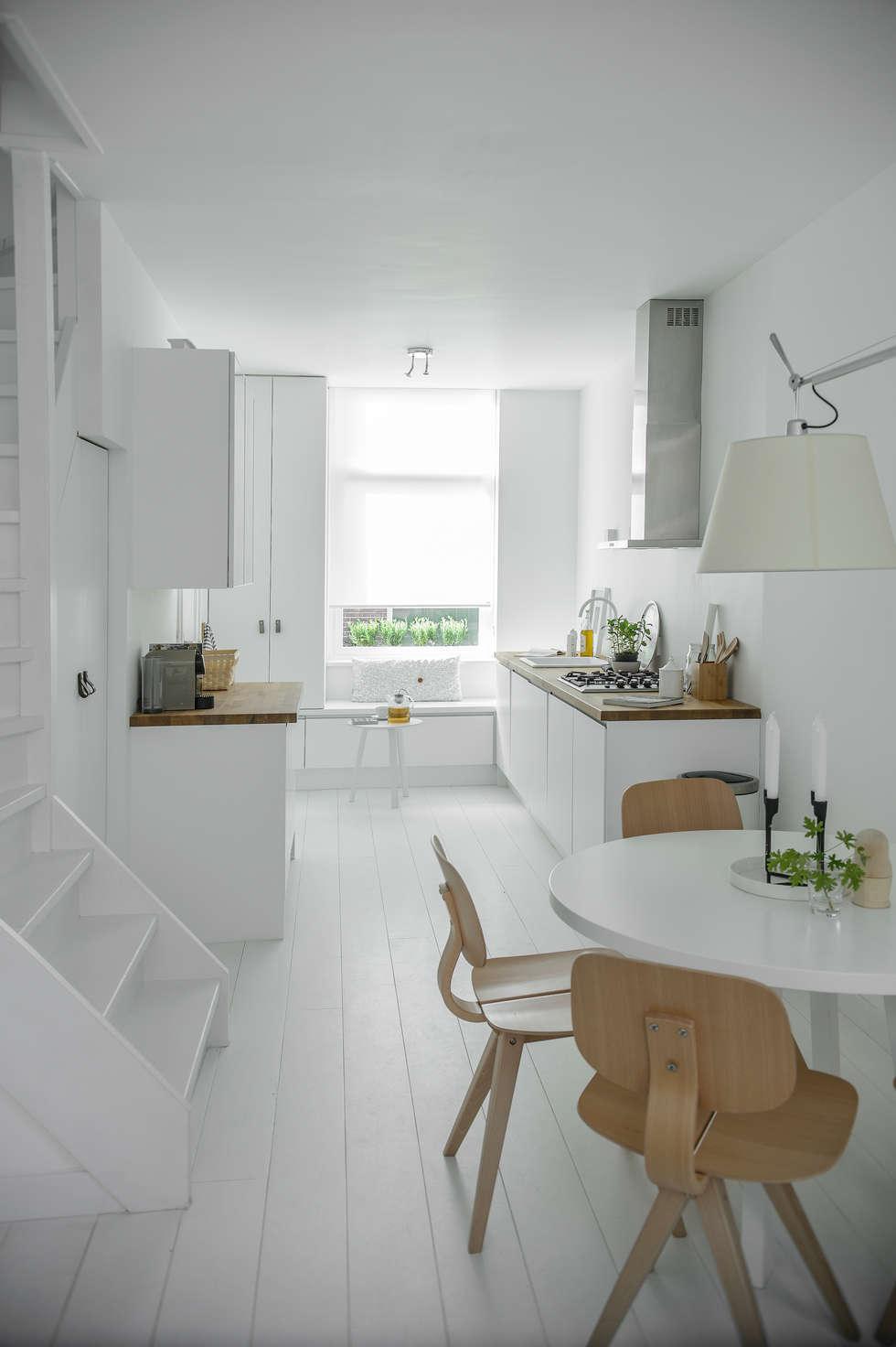 Woonhuis | Delft : scandinavische Keuken door Design Studio Nu