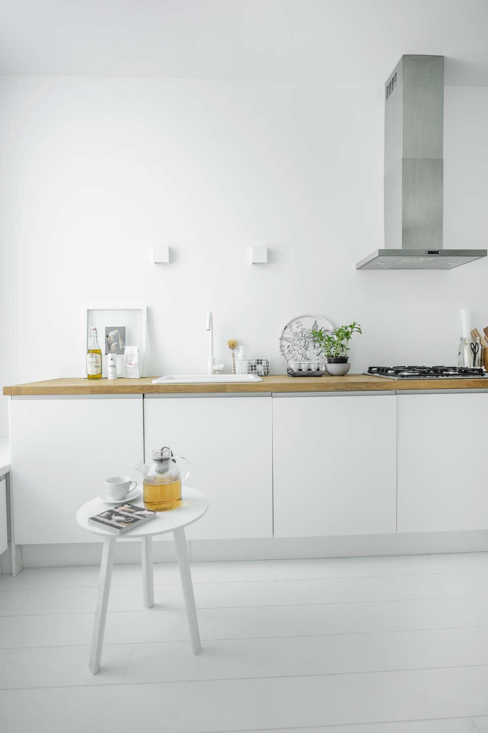 Woonhuis   Delft : scandinavische Keuken door Design Studio Nu