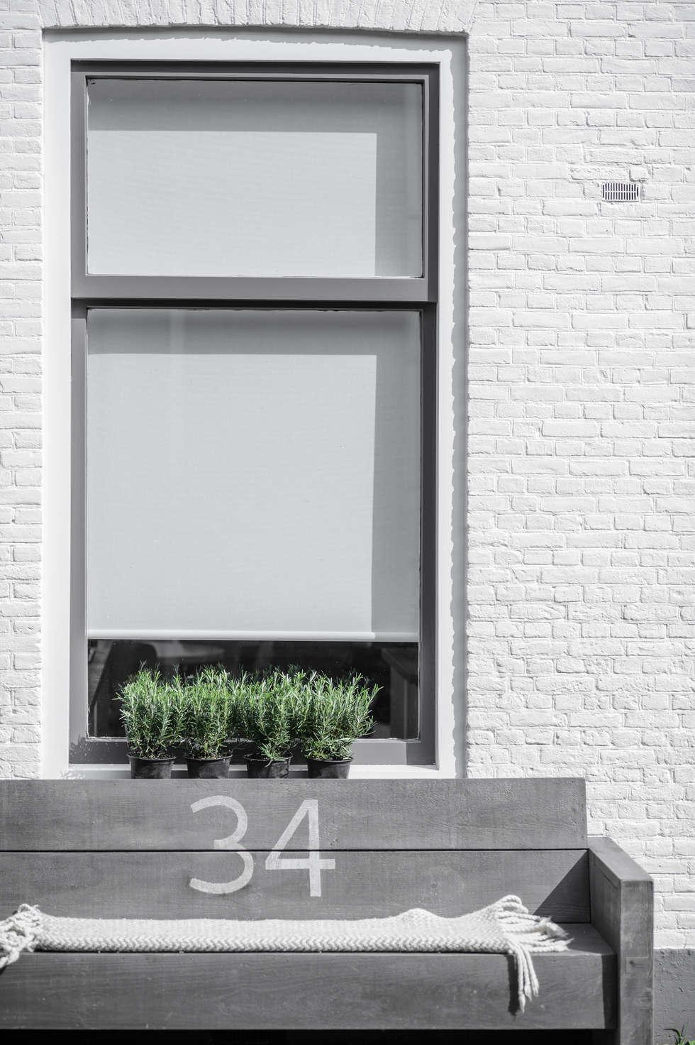 Woonhuis Delft : scandinavische Huizen door Design Studio Nu