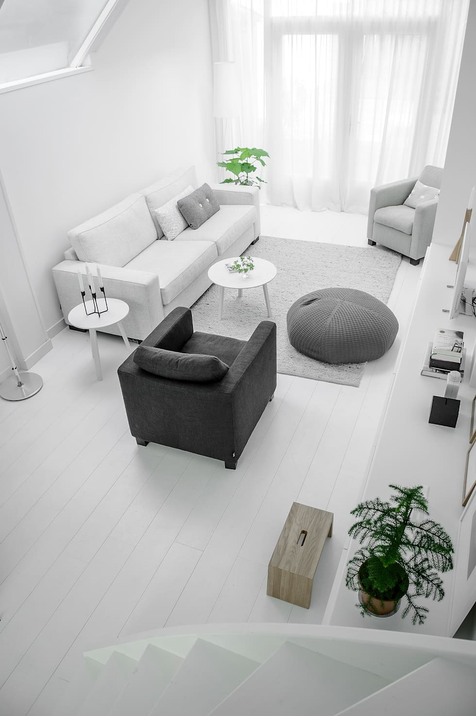 Woonhuis   Delft : scandinavische Woonkamer door Design Studio Nu