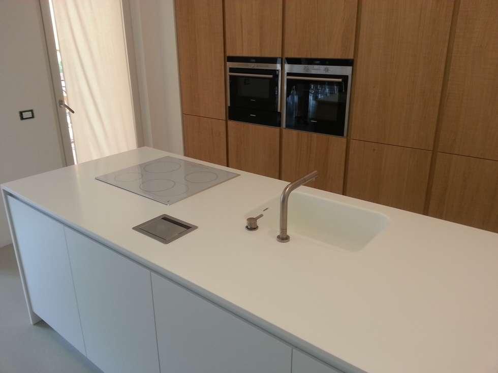 Cucina su misura - Formarredo Due & Key Sbabo Cucine: Cucina in stile in stile Minimalista di Formarredo Due design 1967