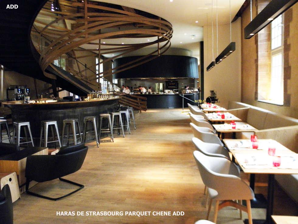 HARAS DE STARSBOURG : Restaurants de style  par ADD
