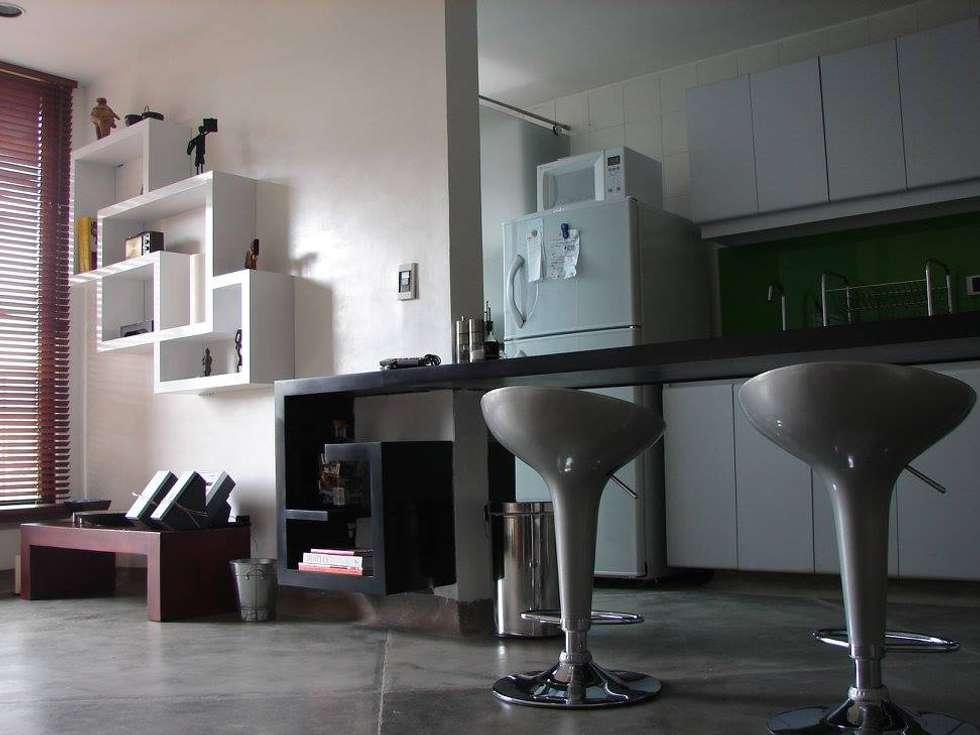 Apto LLano Mendoza: Casas de estilo moderno por Heritage Design Group