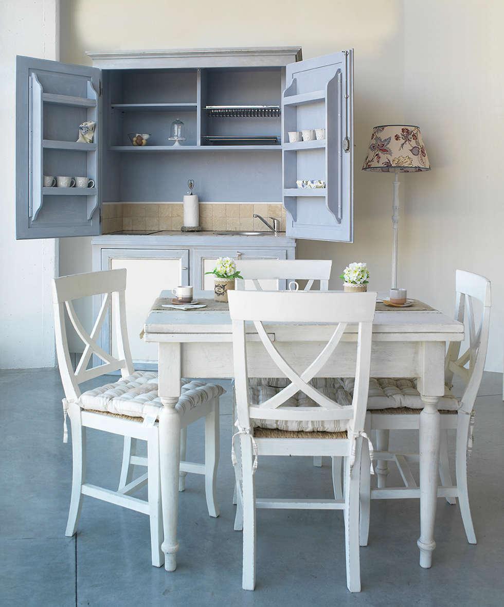 Ambiente: Cucina in stile in stile Mediterraneo di LA BOTTEGA DEL FALEGNAME
