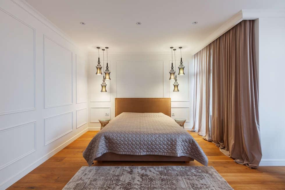 Camera da letto in stile in stile Minimalista di U-Style design studio