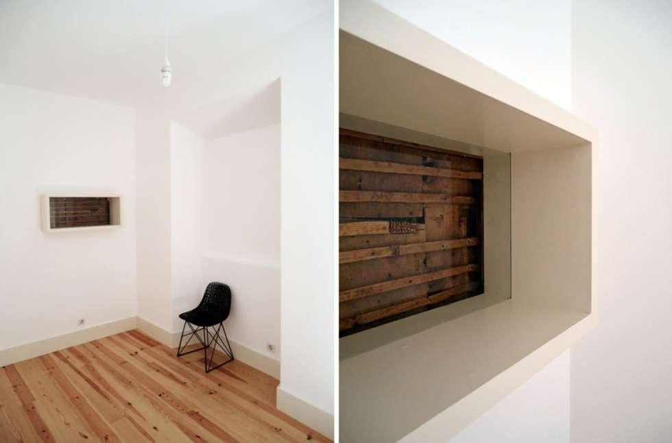 FOTOGRAFIAS: Quartos minimalistas por COLECTIVO arquitectos