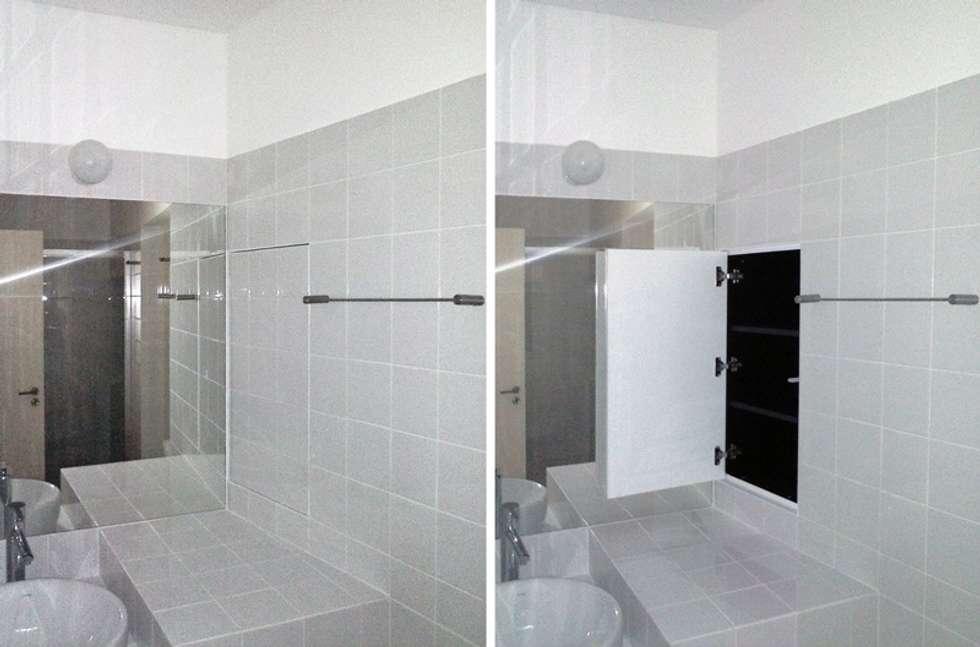 FOTOGRAFIAS: Casas de banho minimalistas por COLECTIVO arquitectos